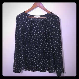 Large Loft Sheer Blouse